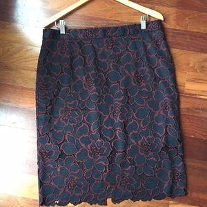 Women's Tina Turk Lace Skirt S12